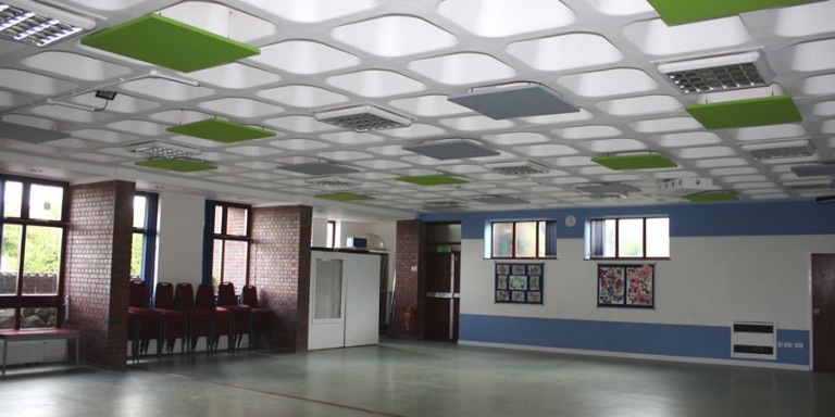 Church Suspended Acoustic Panels in High Wycombe