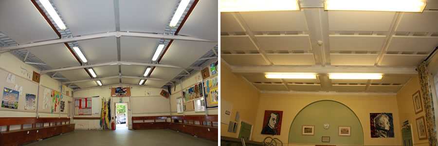 Cl;oudsorba Acoustic Panels For Village Halls