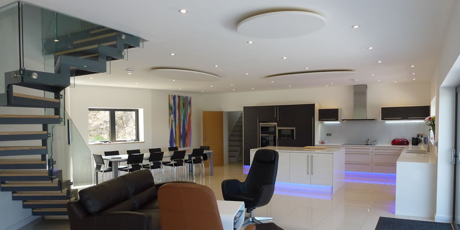 Suspended Acoustic Ceiling Panels For Residential Kitchen