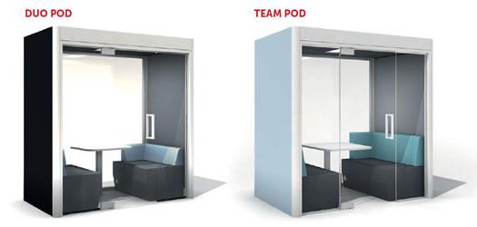 Podsorba Duo and Team Pod