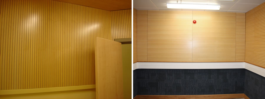 Police Station Acoustic Panels