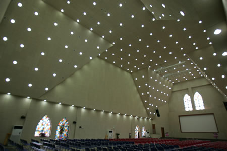 Religious Building Acoustic Panels for Sound Absorption