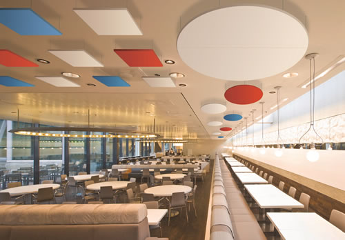 Acoustic Panels for Restaurants - Cloudsorba