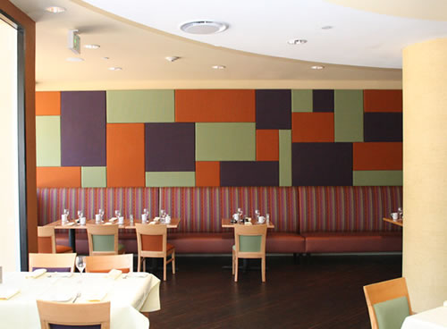 Restaurant Acoustic Wall Panels - Wallsorba