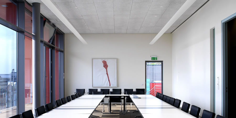 Toughsorba acoustic panels in an office