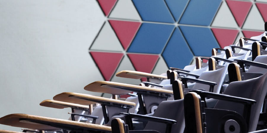 High Performance Acoustic Wall Panels For Sound Absorption